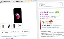 Bons Plans PriceMinister : iPhone 7 32Go Noir, iPhone 7 128Go Rouge, et plus