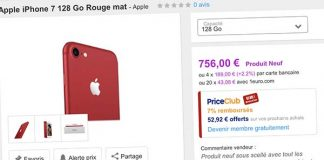 Bons Plans Priceminister : iPhone 7/ 7Plus RED, iPhone SE, Drone DJI Phantom + bons d'achat