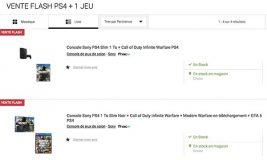 Bons Plans : PS4 Slim 1To + 1 jeu, des casques audio, un vidéoprojecteur et plus