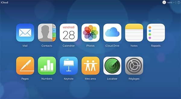 Les bulles dynamiques habillent désormais le portail iCloud