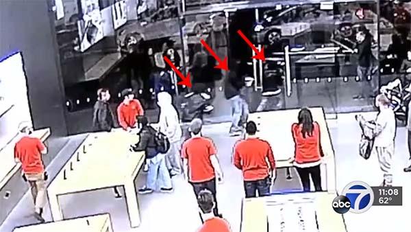 Californie : braquage à l'ancienne de l'Apple Store de Corte Madera