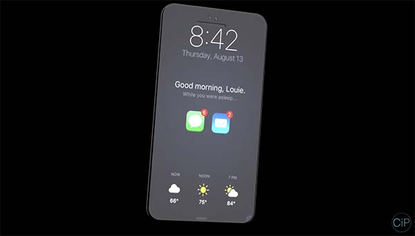 Cet iPhone 8 a t-il ses chances face au design du Galaxy S8 ?