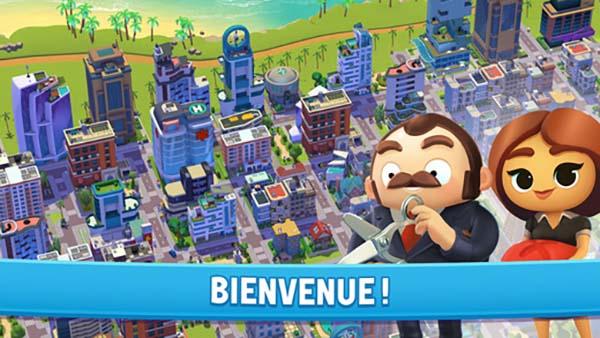 City Mania: Town Building, le nouveau jeu de construction de ville conçu par Gameloft
