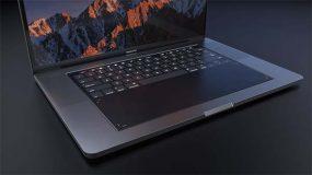 Et si le prochain MacBook Pro adoptait une surface tactile en lieu et place du clavier ? [Concept]