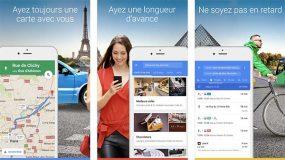 Google Maps 4.30 : nouveau widget « Itinéraire » et intégration avec iMessage