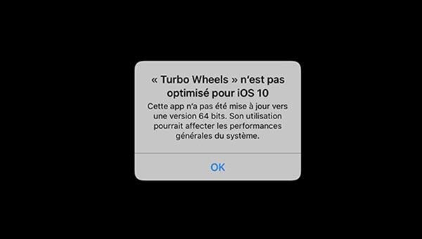 iOS 11 : Apple pourrait supprimer le support des applications 32 bits dès cet automne
