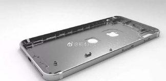 iPhone 8 : fuite du châssis avec le Touch ID placé au dos de l'appareil