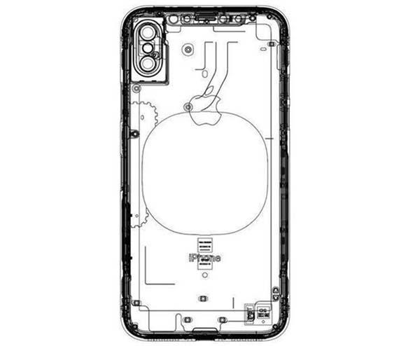 iPhone 8 : un nouveau schéma montre un module de recharge sans fil