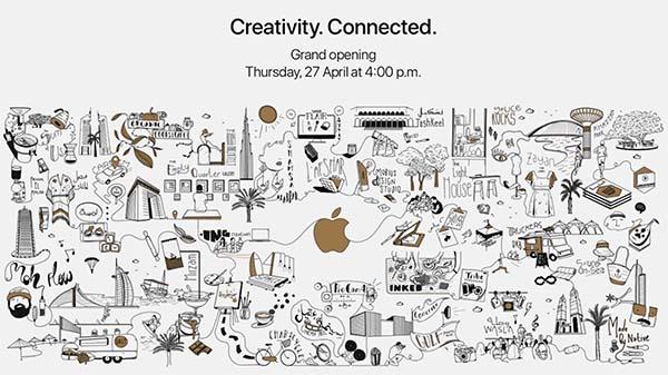 L'Apple Store au Dubaï Mall ouvrira ses portes le 27 Avril