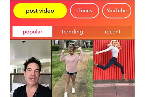 Les titres d'Apple Music sont désormais disponibles sur Musical.ly