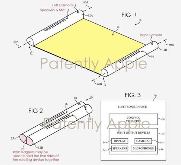Et si l'iPhone pouvait se dérouler tel un parchemin !