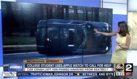 Maryland : un étudiant de 22 ans sauve sa vie grâce à l'Apple Watch
