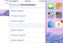 PanoramaPapers : ajoutez plusieurs fonds d'écran sous iOS 10