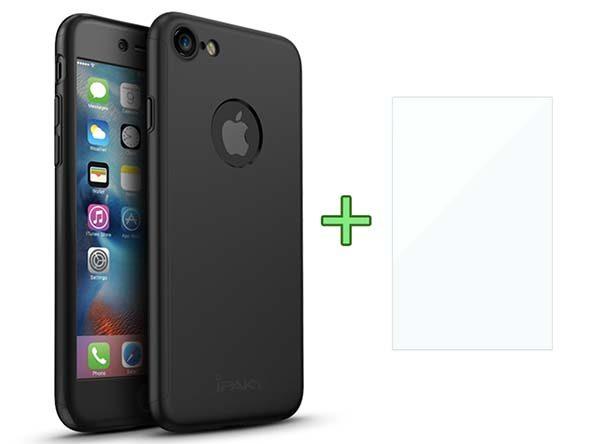 Promo sur la Coque 360° pour iPhone 7 & 7 Plus avec une protection d'écran en verre