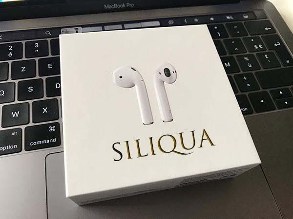 Siliqua se dote de nouvelles fonctions pour contrôler vos AirPods