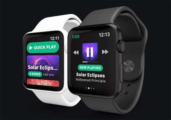 Snowy : la prochaine app Spotify conçue pour l'Apple Watch
