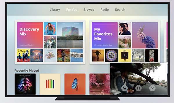 tvOS 11 : Apple préparerait le support du multi-comptes et le mode Picture-in-Picture