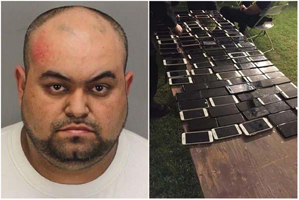 Un voleur se fait attraper avec une centaine de smartphones grâce à « Localiser mon iPhone »