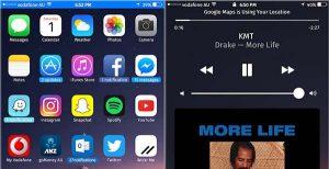 UsageBarX modifie la barre d'activités sur votre iPhone et iPad [Jailbreak iOS 10]