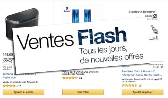 Ventes Flash Amazon : Bracelet Connecté, MicroSDXC Sandisk 64Go, Enceinte Jabra et plus