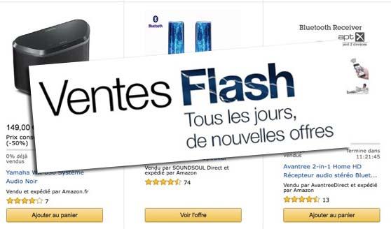 Ventes Flash Amazon : microSD 128Go, Batterie Solaire 16000mAh, Casque Bluedio U et plus