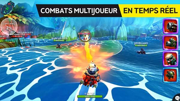 Nouveaux jeux iOS : Battle Bay, Clash Tank.io, Blitz Brigade: Rival Tactics et plus