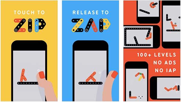 App de la semaine : Apple vous offre le jeu Zip—Zap !
