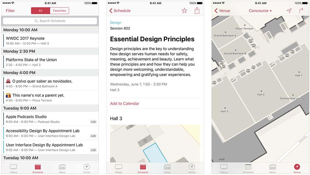 Apple met à jour son application WWDC pour la conférence début juin