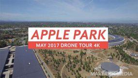 Apple Park s'offre une nouvelle vue du ciel avant son inauguration