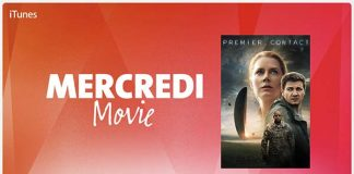 Apple propose aujourd'hui seulement de louer le film Premier Contact à 1,99 € en HD