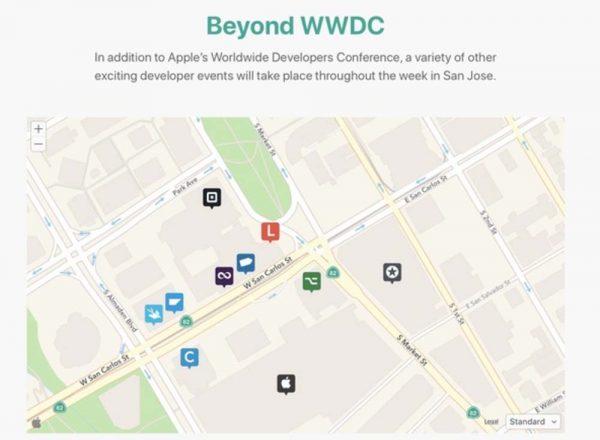 Apple propose les détails des événements « alternatifs » à la WWDC