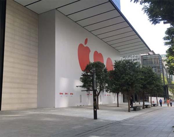 Apple s'apprête à ouvrir son premier magasin à Singapour