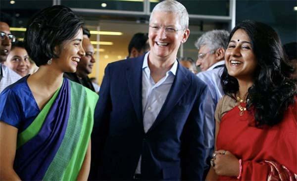 Apple s'apprête à ouvrir sa boutique en ligne en Inde