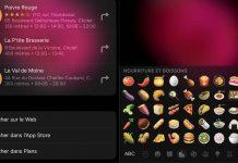 Astuce iOS 10 - Dénicher des restaurants à l'aide d'emojis