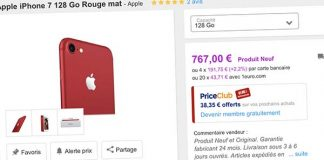 Bons Plans Priceminister : iPhone 7 256Go, iPhone 7 Plus 32Go, iPhone 7 RED 128Go et plus