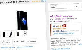 Bons Plans Priceminister : iPhone 7 (Plus) 32Go et iPhone 7 RED (Plus) 128Go + bons d'achat