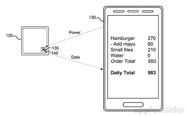 Brevet : l'Apple Watch pourrait mesurer les valeurs nutritionnelles des aliments