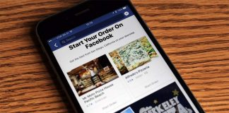 Commander de la nourriture sur Facebook n'est plus une option