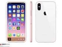 Concept : Que pensez-vous de cet iPhone 8 Or Rose ?