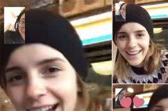 Emma Watson fait une surprise à l'une de ses fans en FaceTime