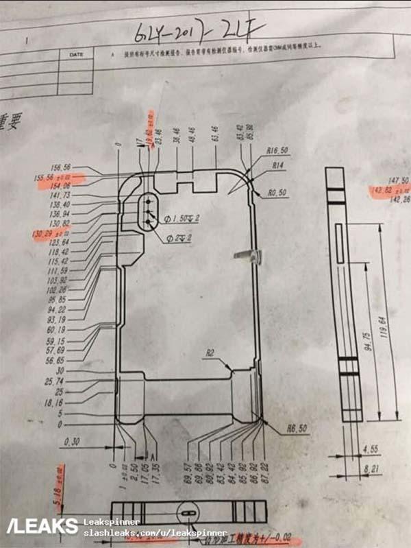 Fuite iPhone 8 : le moule et un nouveau schéma confirment plusieurs rumeurs