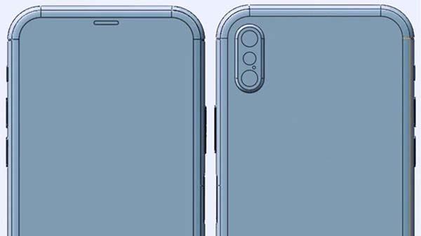 iPhone 8 : une nouvelle maquette confirme le double objectif à la verticale