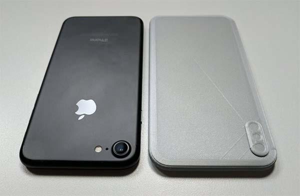 iPhone 8 : voici une maquette imprimée en 3D basée sur les schémas de l'appareil