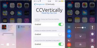 CCVertically met le Centre de contrôle à la verticale [Jailbreak iOS 10]