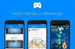 Les jeux sur Facebook Messenger sont maintenant disponibles pour tout le monde