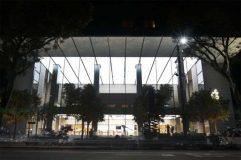 Les premières photos du nouvel Apple Store à Singapour