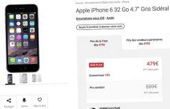 L'iPhone 6 32Go débarque en France à la Fnac et chez Darty