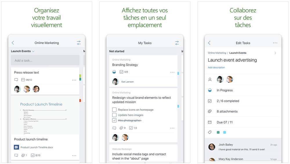 Microsoft Planner est maintenant disponible sur l'App Store
