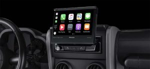 Pioneer lance son nouvel autoradio compatible Carplay