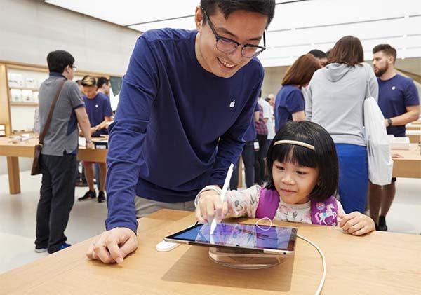 Singapour : le premier Apple Store a ouvert ses portes !